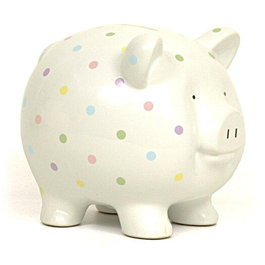 Child to Cherish Confetti Large Piggy Bank