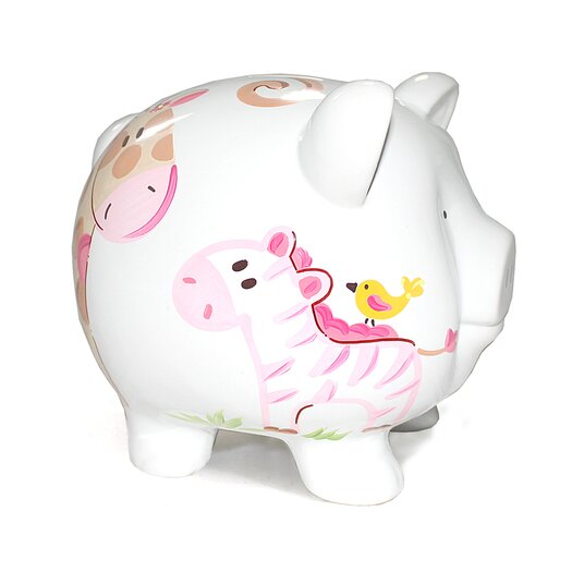 Child to Cherish Jungle Jill Large Piggy Bank