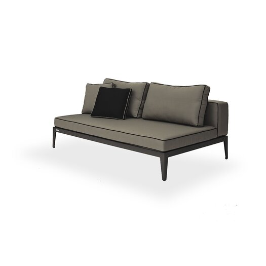 Harbour Outdoor Balmoral Armless Deep Seating Sofa with Cushions