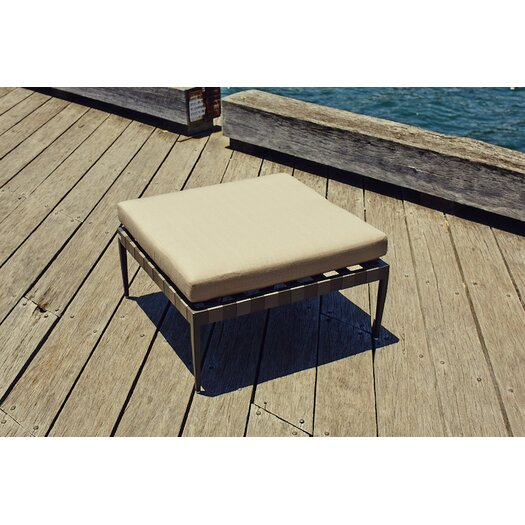Harbour Outdoor Pier Ottoman with Cushion