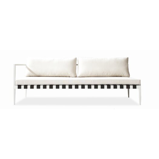 Harbour Outdoor Pier Left Arm Deep Seating Sofa with Cushions