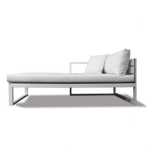 Harbour Outdoor Piano Left Arm Sofa with Mesh Cushions