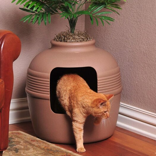 Good Pet Stuff Co. Covered Hidden Cat Litter Box / Decorative Planter