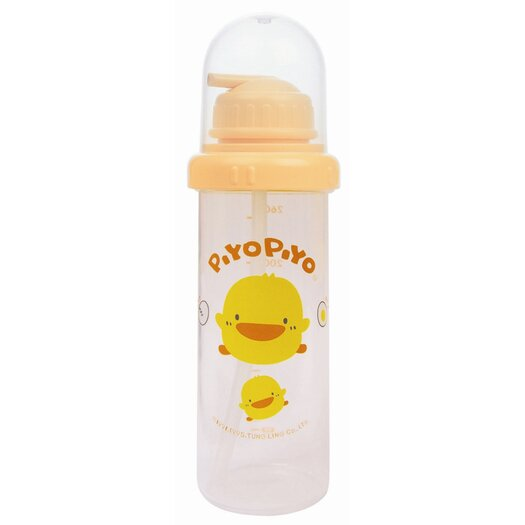Piyo Piyo Nursing PP Bottle with Straw Cap (260 ml)