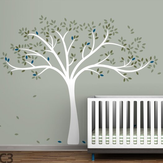 LittleLion Studio Trees Fall Wall Decal