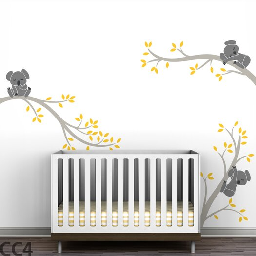Tree Branches Koala Wall Decal