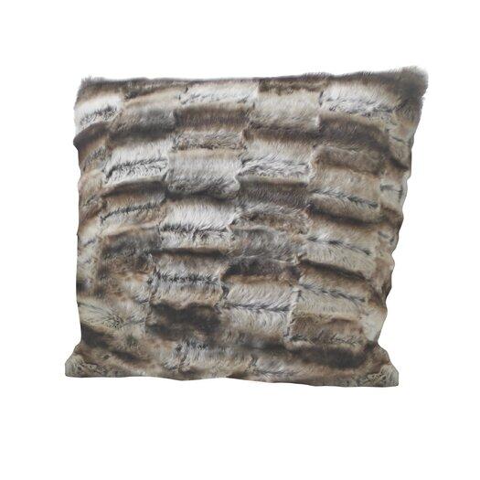 Portico Seduction Wrapture Faux Fur Throw Pillow