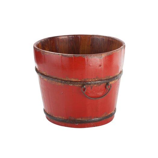 Antique Revival Vintage Wooden Sink Bucket