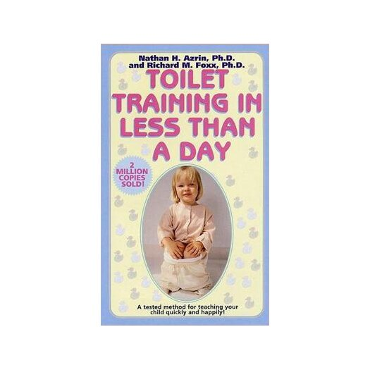 Simon & Schuster Toilet Training in Less Than a Day Book