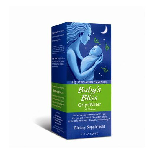 Mommys Bliss Gripe Water Natural Supplement