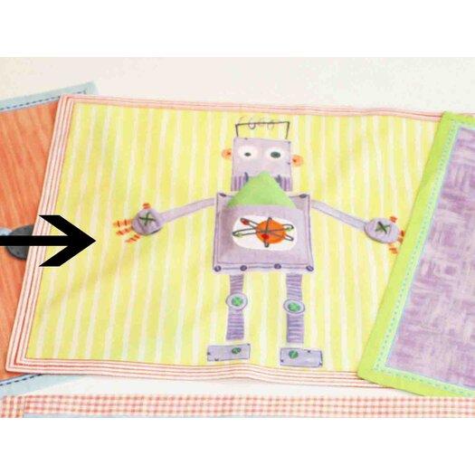 The Little Acorn Purple Robot Placemat