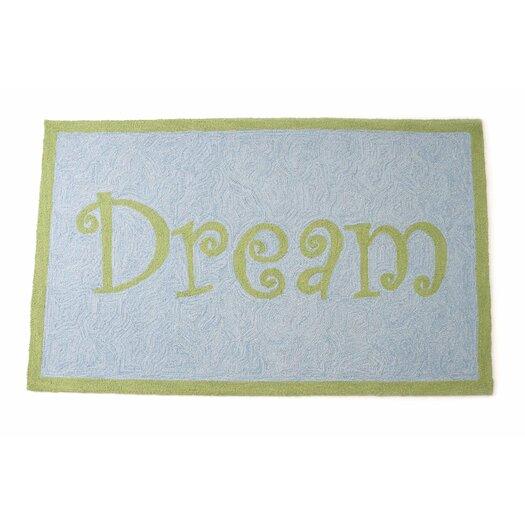 The Little Acorn Dream Blue/Green Area Rug