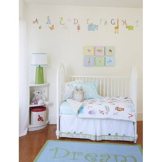 The Little Acorn Alphabet Adventure Sunshine Giraffe Canvas Art