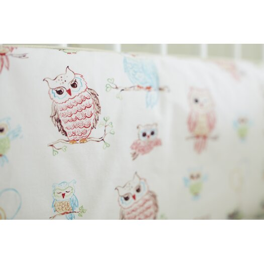 The Little Acorn Baby Owls Bumper