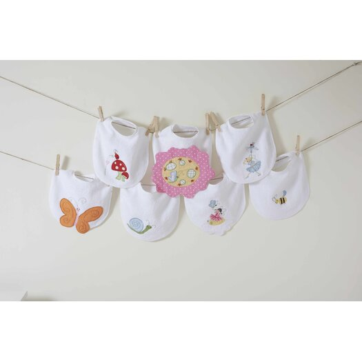 The Little Acorn Natureland Fairies Butterfly Bib