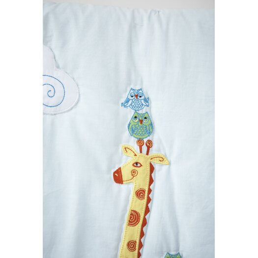 The Little Acorn Funny Friends Quilt
