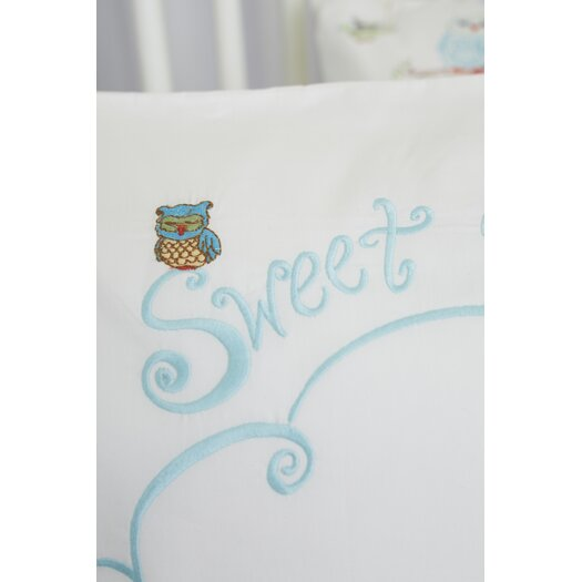 The Little Acorn Baby Owls Sweet Dreams Toddler Cotton Pillow