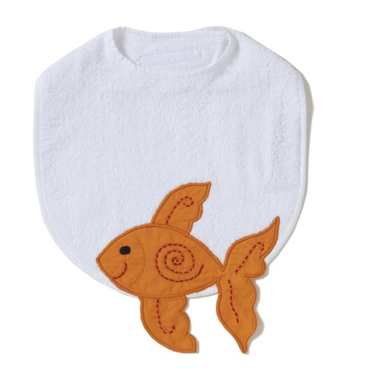 The Little Acorn Alphabet Adventure Goldfish Bib