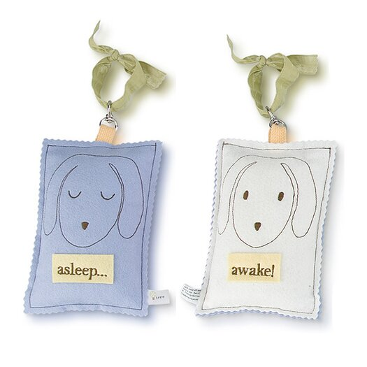 Tree by Kerri Lee Doggy Asleep / Awake Door Hanger