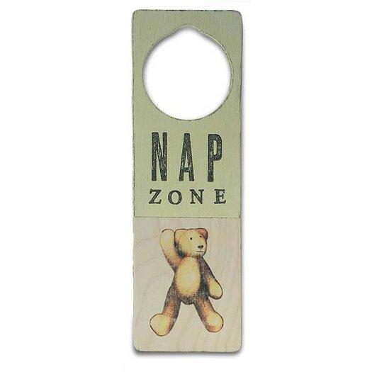 """Tree by Kerri Lee """"Nap Zone"""" Door Hanger"""
