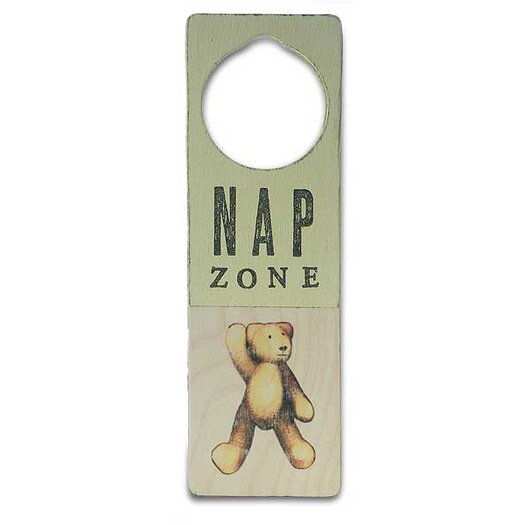 "Tree by Kerri Lee ""Nap Zone"" Door Hanger"