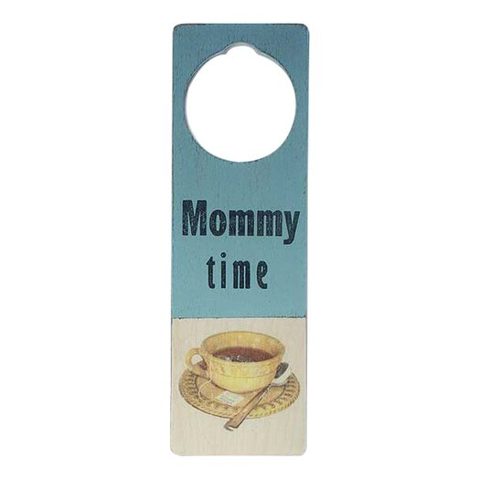 "Tree by Kerri Lee ""Mommy Time"" Door Hanger"