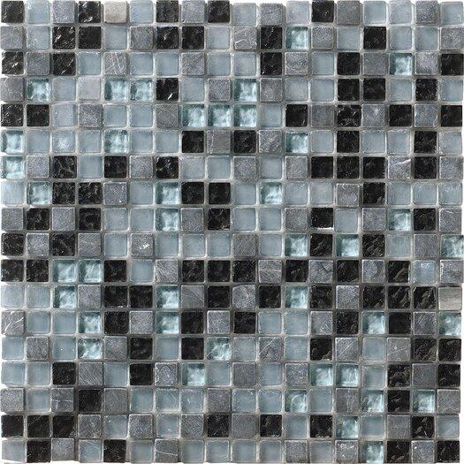 Marazzi Crystal Stone Glass/Stone Mosaic in Marine