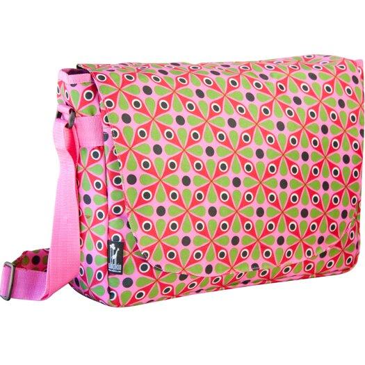 Wildkin Ashley Kaleidoscope Laptop Messenger Bag