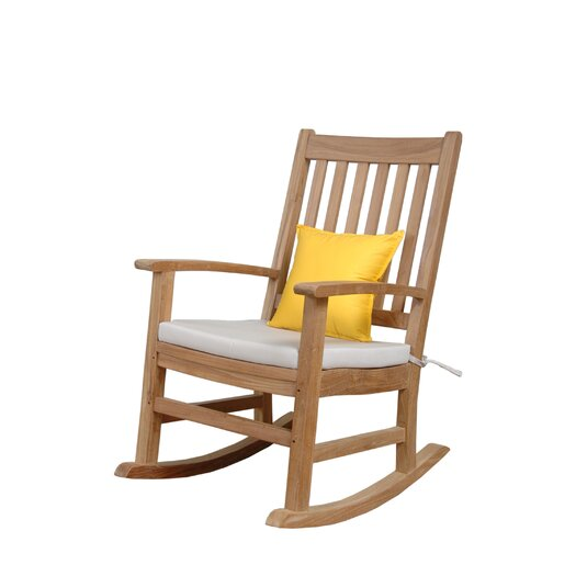 Anderson Teak Palm Beach Rocking Arm Chair