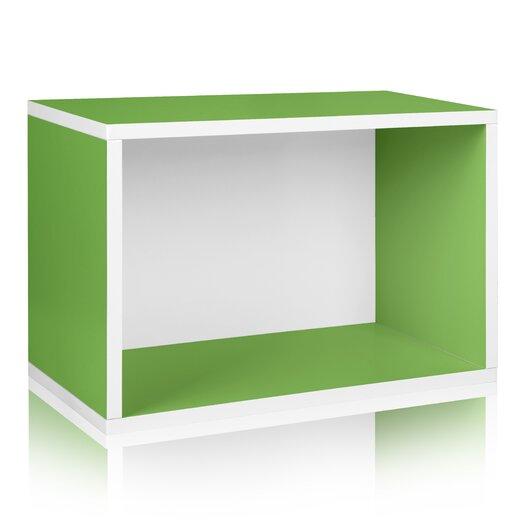 Way Basics Eco-Friendly Rectangle Plus Storage Unit