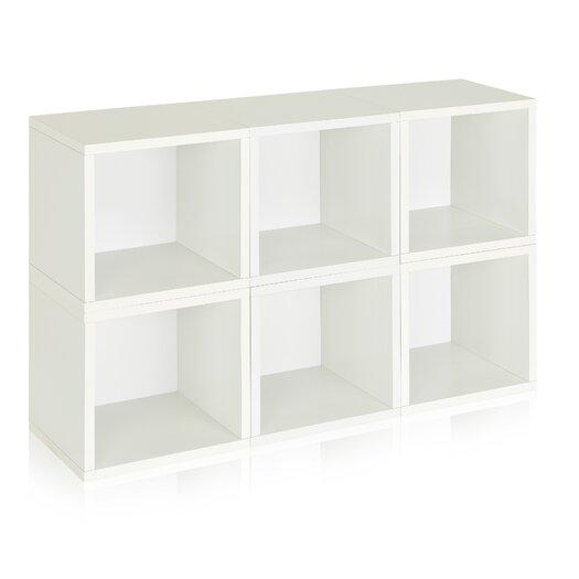 Way Basics Eco-Friendly Modular Storage Cubes