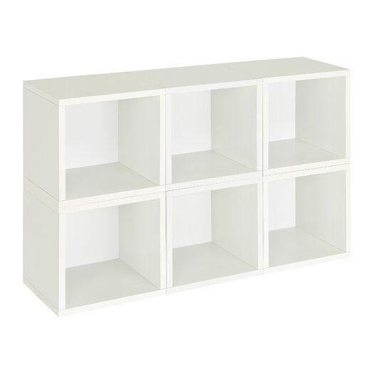 Way Basics Way Basics Eco Stackable Modular Storage Cubes Plus (6 Pack))