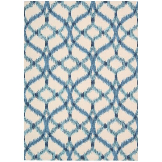 Waverly Sun N' Shade Ivory Indoor/Outdoor Area Rug