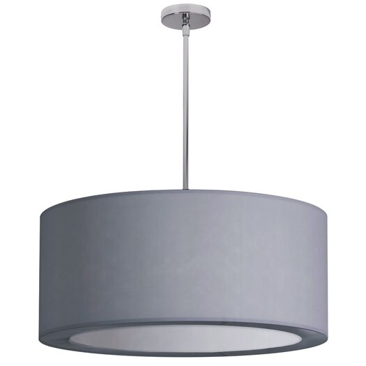 Dainolite 4 Light Crystal Drum Pendant
