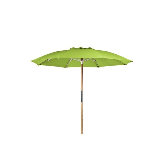Frankford Umbrellas 7.5' Ash Wood Center Pole Beach Umbrella