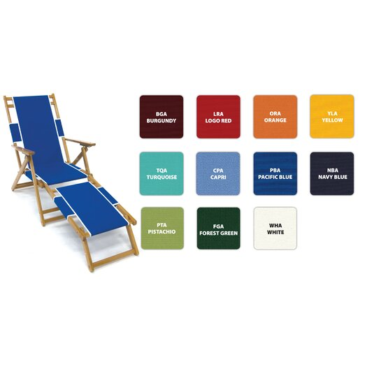 Frankford Umbrellas Oak Wood Beach Chair