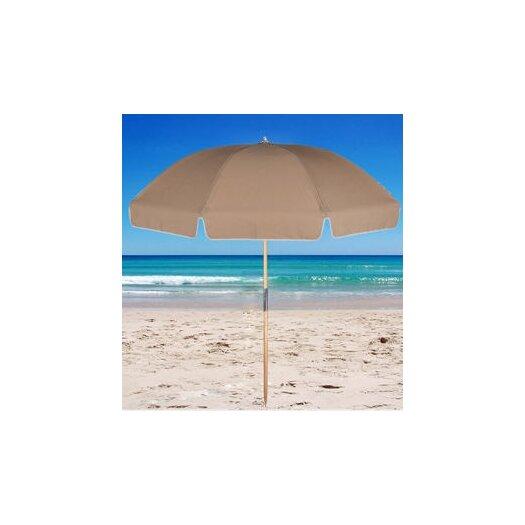 Frankford Umbrellas 7.5' Fiberglass Beach Umbrella with Carry Bag