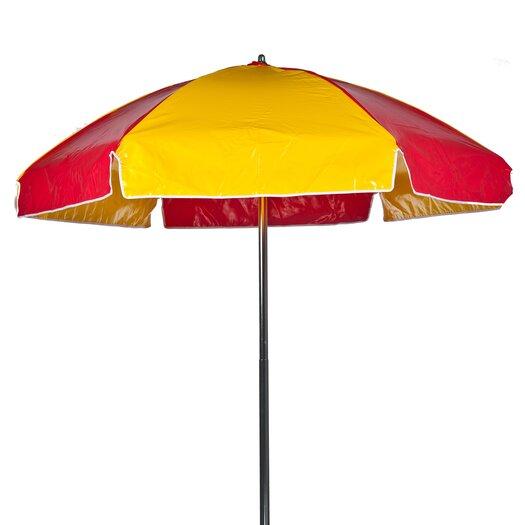 Frankford Umbrellas 6.5' Striped Lifeguard Umbrella