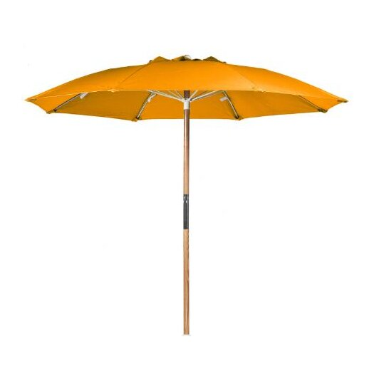 Frankford Umbrellas 7.5' Ash Wood Center Pole Beach Umbrella