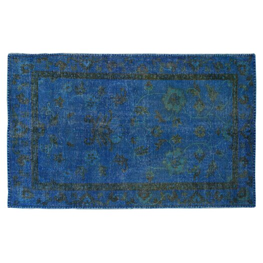 Moe's Home Collection Stitch Blue Area Rug