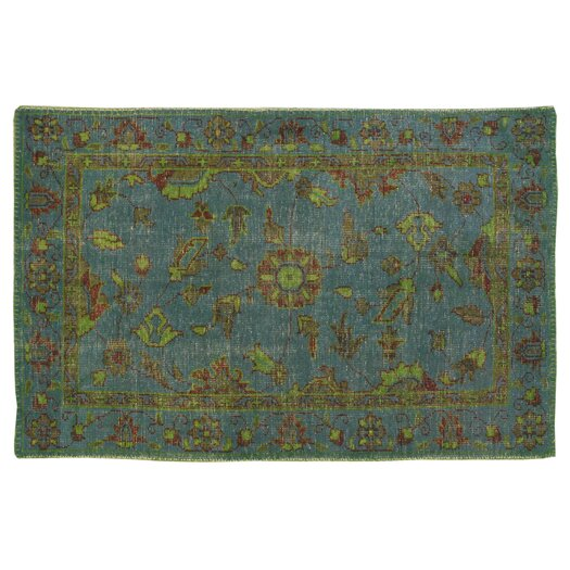 Moe's Home Collection Stitch Green Rug
