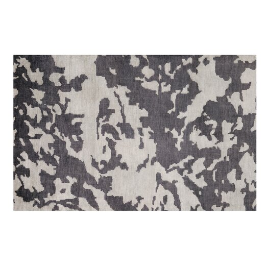 Moe's Home Collection Splash Beige/Grey Area Rug