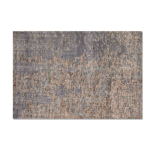Moe's Home Collection Fringe Beach Gray Area Rug