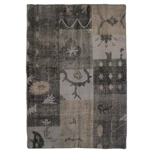 Moe's Home Collection Stitch Grey Area Rug