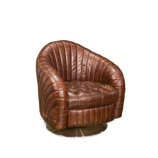 Moe's Home Collection Geneva Leather Chair