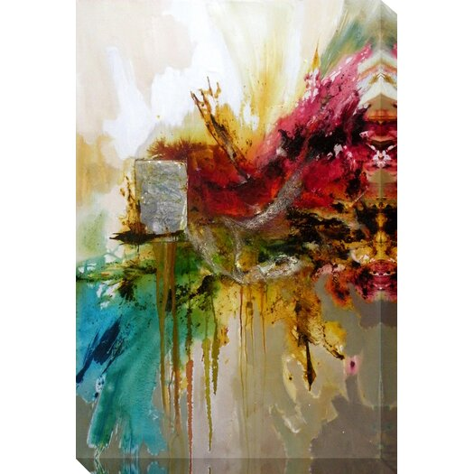 Moe's Home Collection Equinox I Painting Print on Canvas