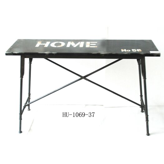 Moe's Home Collection School Distressed Console Table