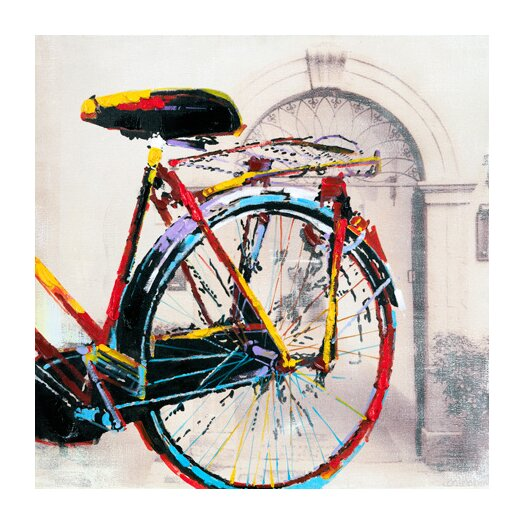 Moe's Home Collection Cycle II Painting Print on Canvas