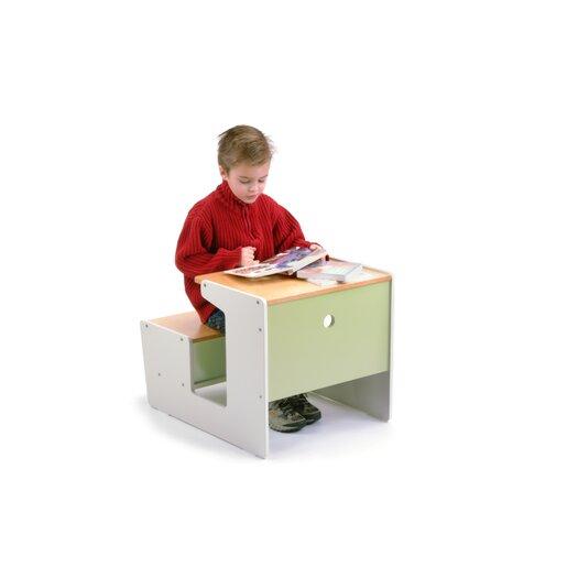 "Offi Plywood 17"" Sled Desk"