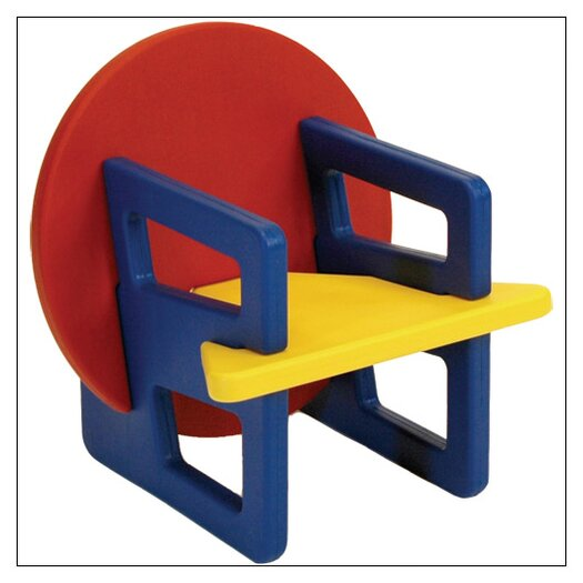 Puzzle Chair in Primary Colors